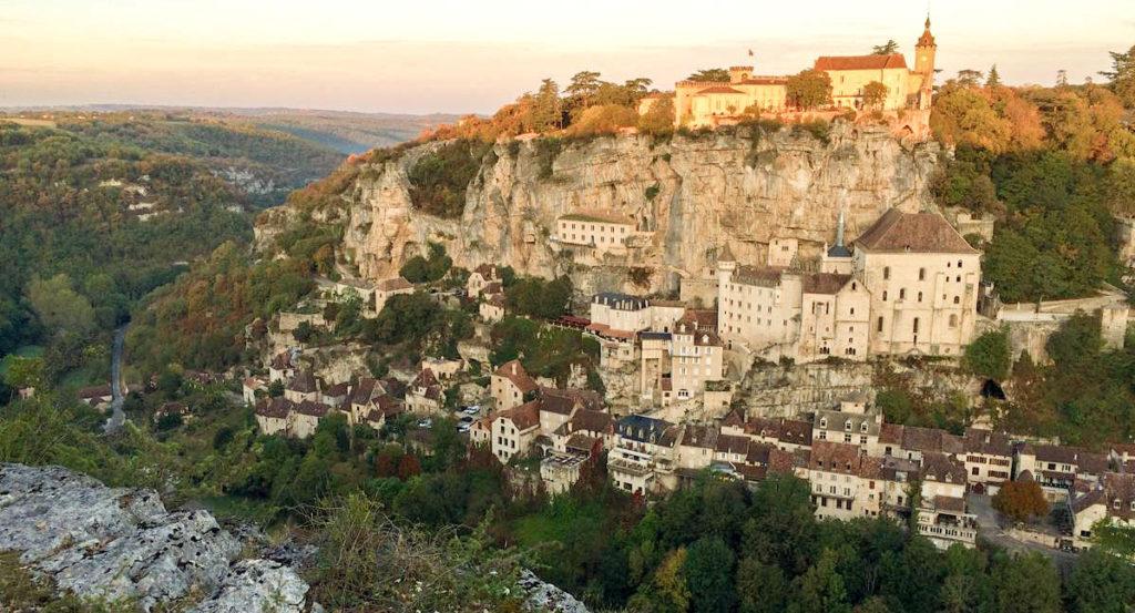 Rocamadour sur le circuit en train pour visiter la France en 10 jours