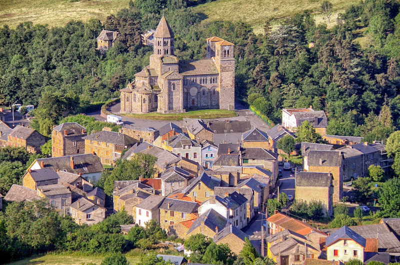 village auvergnat dans mon circuit touristique en Auvergne