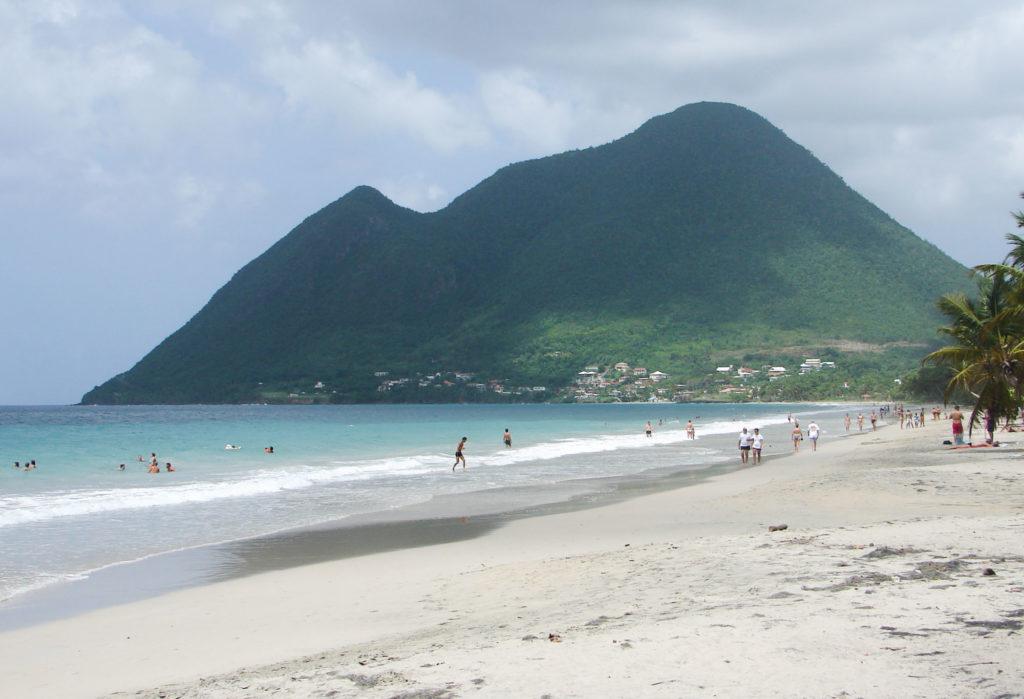 PLAGE SALINES étape de mon itinéraire d'1 semaine en Martinique