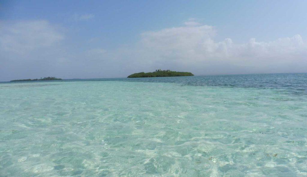 La piscina dans les îles SAN BLAS
