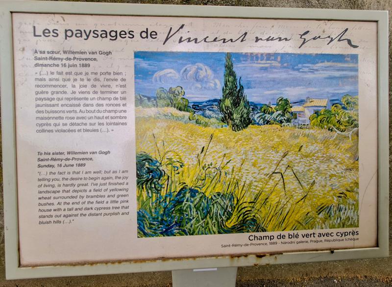 Sur les pas de Van Gogh Saint Rémy de Provence