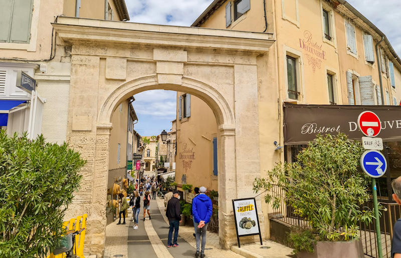 Etape de mon road trip Provence Luberon à Saint Rémy de Provence
