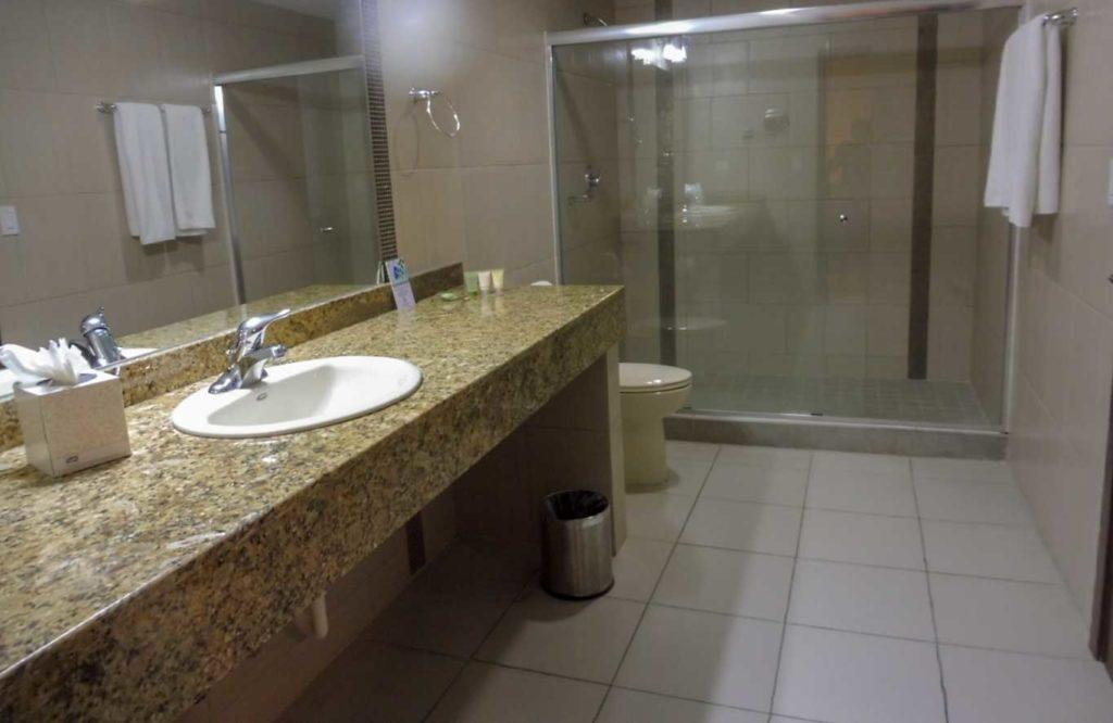 HOTEL PANAMA CITY la salle de bain
