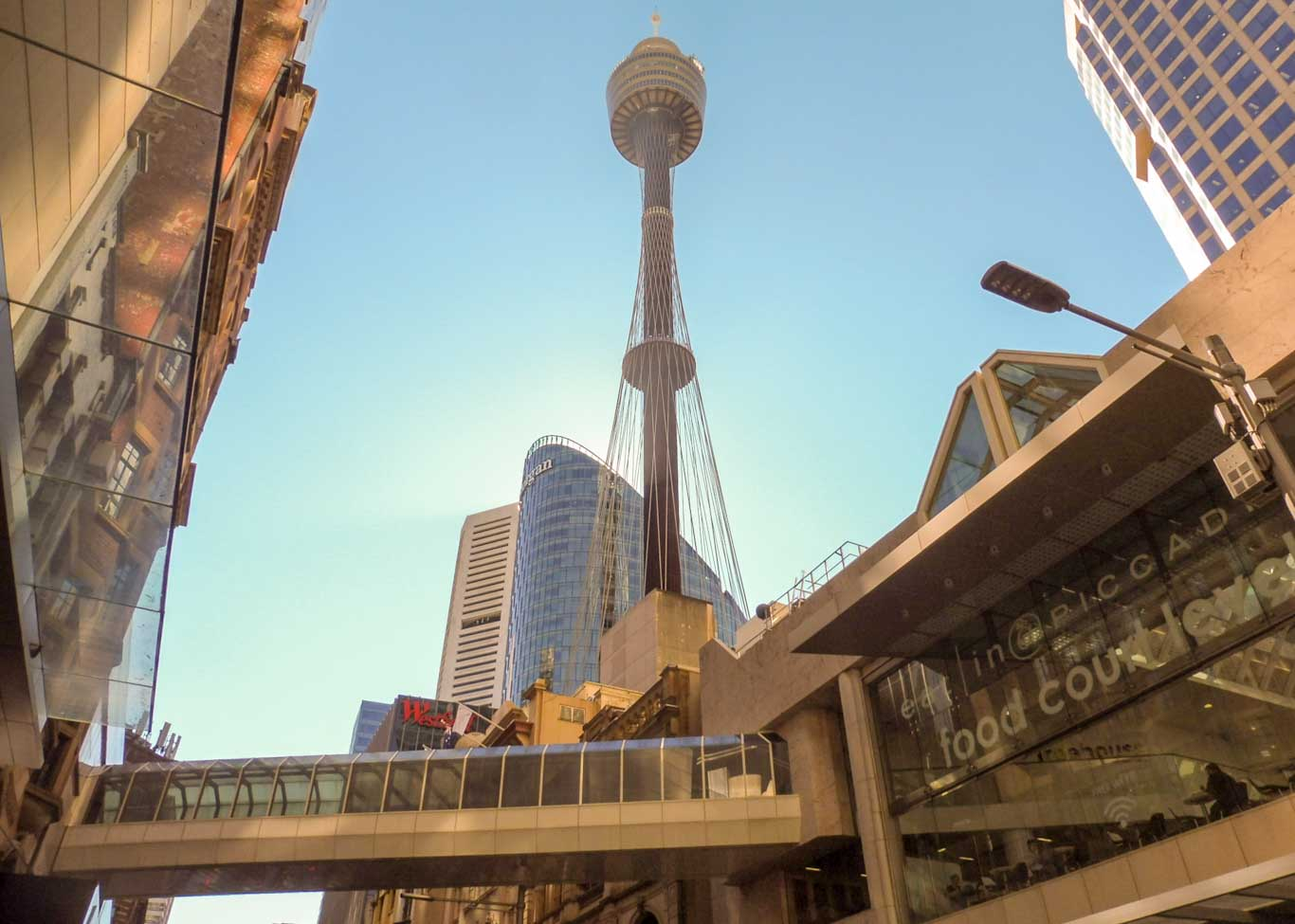 Sydney tower Sydney in 2 days
