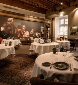 Meilleur restaurant à Toulouse Salle du restaurant le Cénacle
