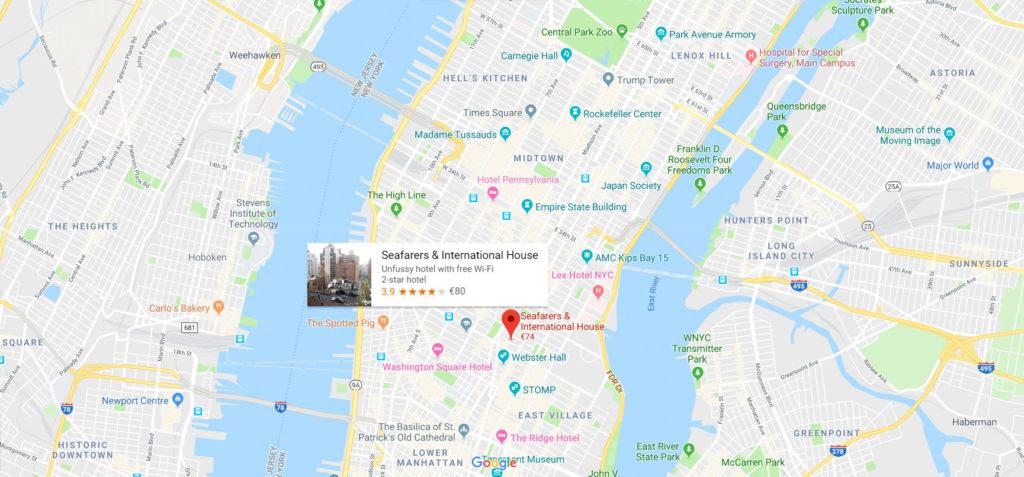 HOTEL PAS CHER NEW YORK Hotel meilleur rapport qualité prix