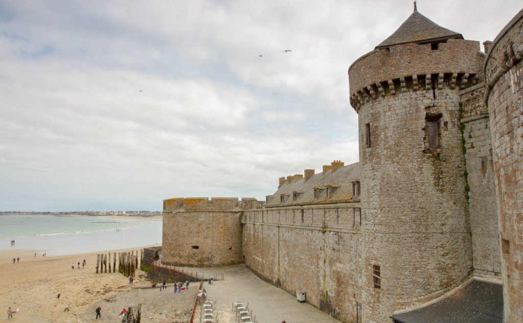 Visite de Saint Malo lors du circuit 1 semaine en France