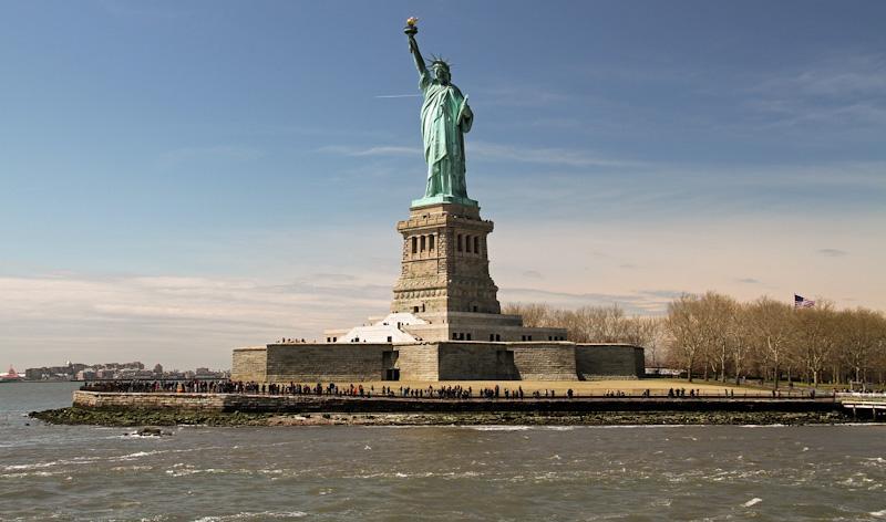 NEW YORK EN 2 JOURS STATUE DE LA LIBERTE