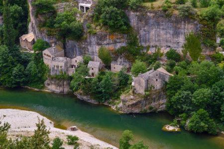 Visiter les Gorges du Tarn circuit touristique avec carte itinéraire