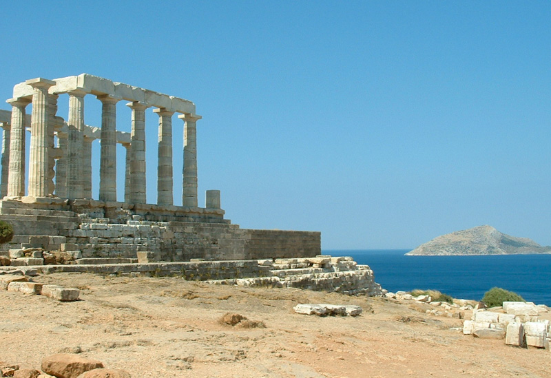 Etape en direction d'Athène sur mon road trip en Grèce