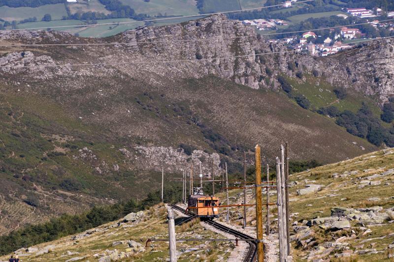 Arrière Pays Basque par Ascain Train de La Rhune