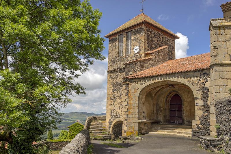 Sur mon circuit touristique en Auvergne : Usson