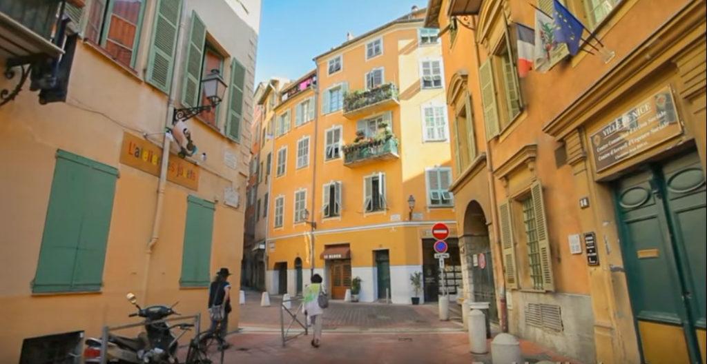 Itinéraire Nice à pied - Le Vieux Nice pour mon circuit Nice en 1 jour