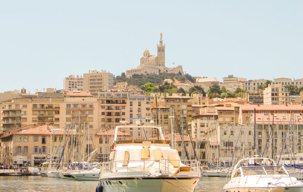 Circuit Marseille à pied  et son Vieux Port de Marseille
