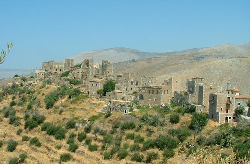 Mistra dans le Péloponnèse sur mon circuit de 15 jours en Grèce
