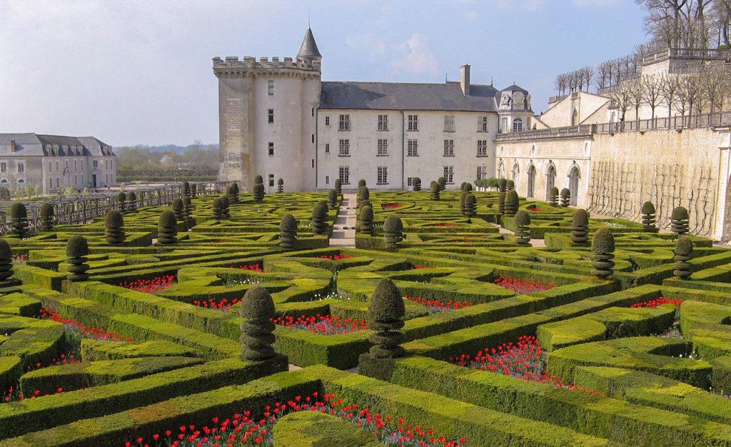 Châteaux de la Loire en 2 jours étape Château de Villandry