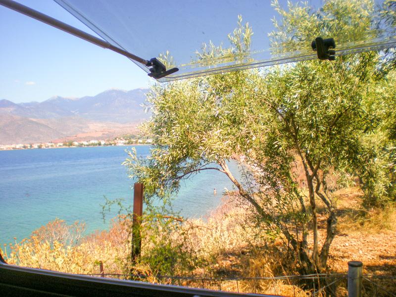 Road trip en Grèce en Camping car