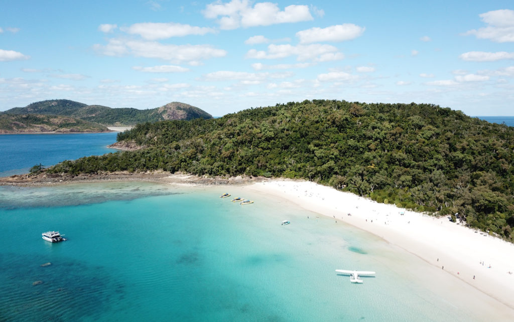 La plus belle plage d'australie Whitehaven Beach
