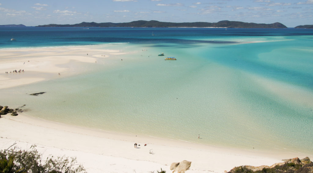 lages des Whitsundays : la Whitehaven Beach