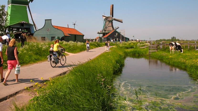 aller à Zaanse Schans depuis Amsterdam