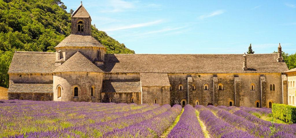 Mon circuit France en train abbaye de senanque