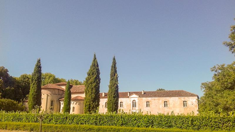 Abbaye de Flaran étape sur mon itinéraire dans le Gers