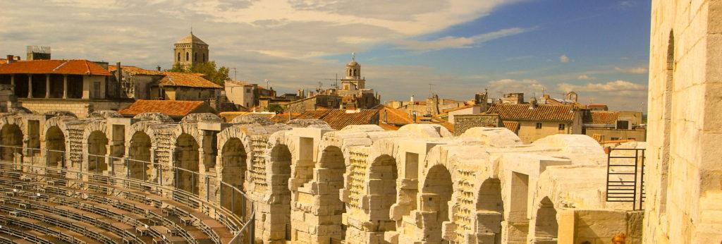 Arles pour mon itinéraire sud de la France