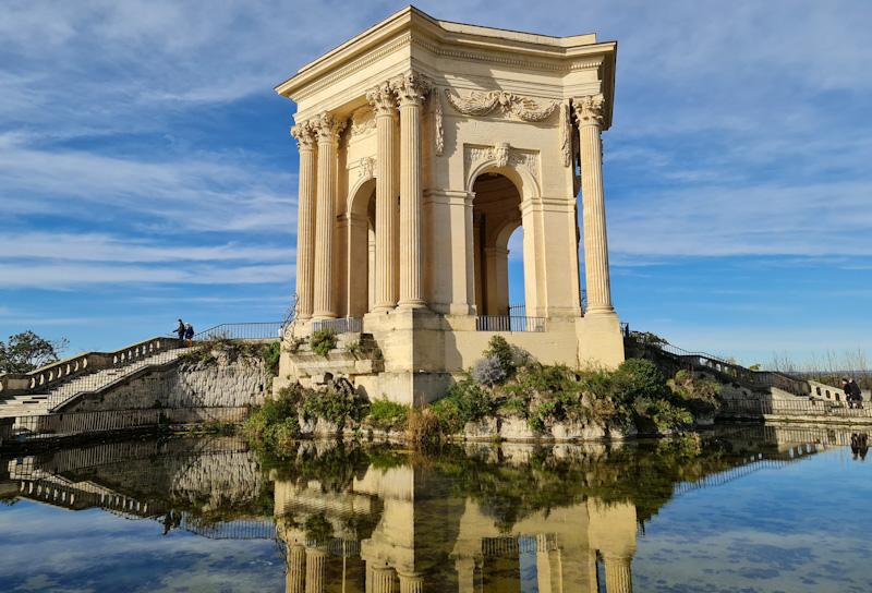 Montpellier en 2 jours Chateau d'eau