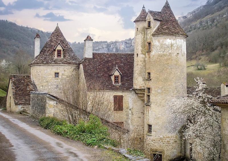 village d'autoire en vallée de Dordogne étape de mon road trip