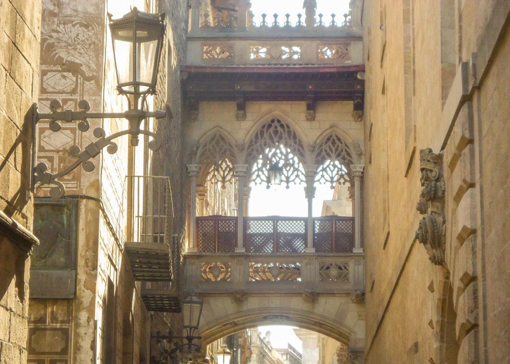 Bari gotic itinairaire visite Barcelone à pied en 1 journée