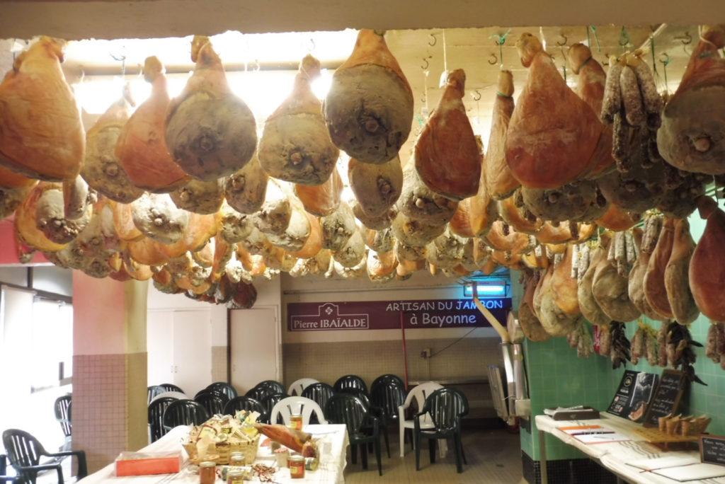 etape visite artisanat jambons bayonne
