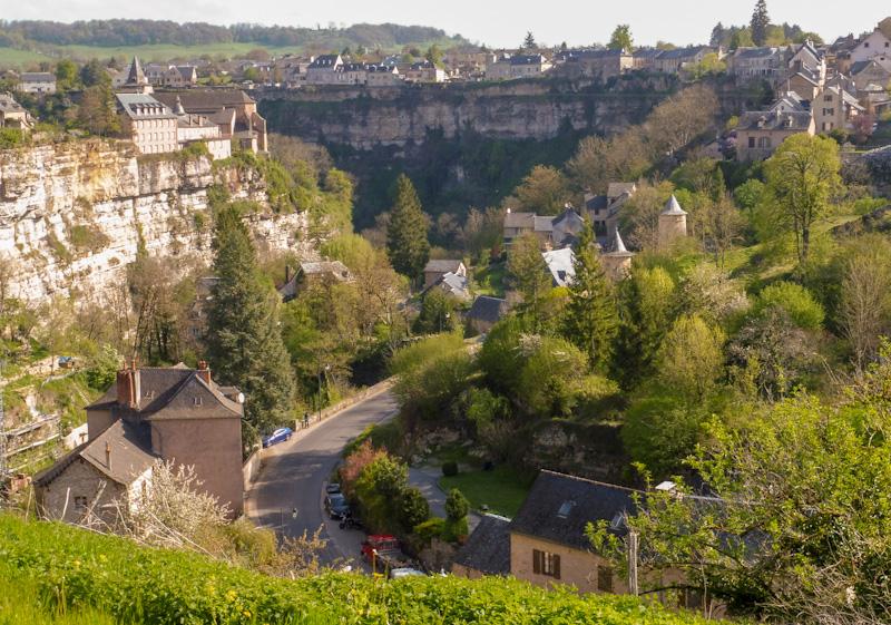 Bozouls village d'Aveyron