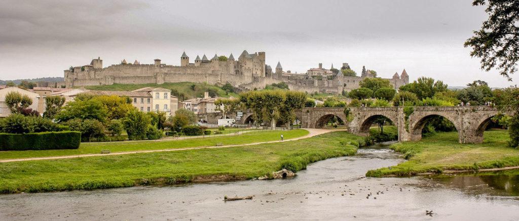 Découvrir la France en train étape à Carcassonne