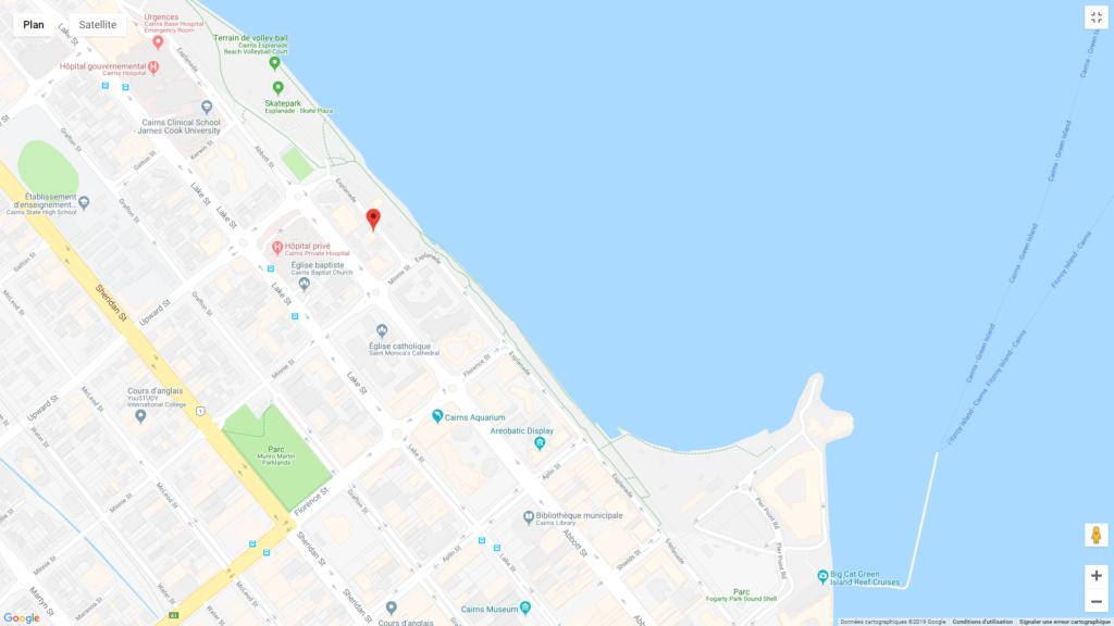hotels pas chers Australie selon circuit  cairns