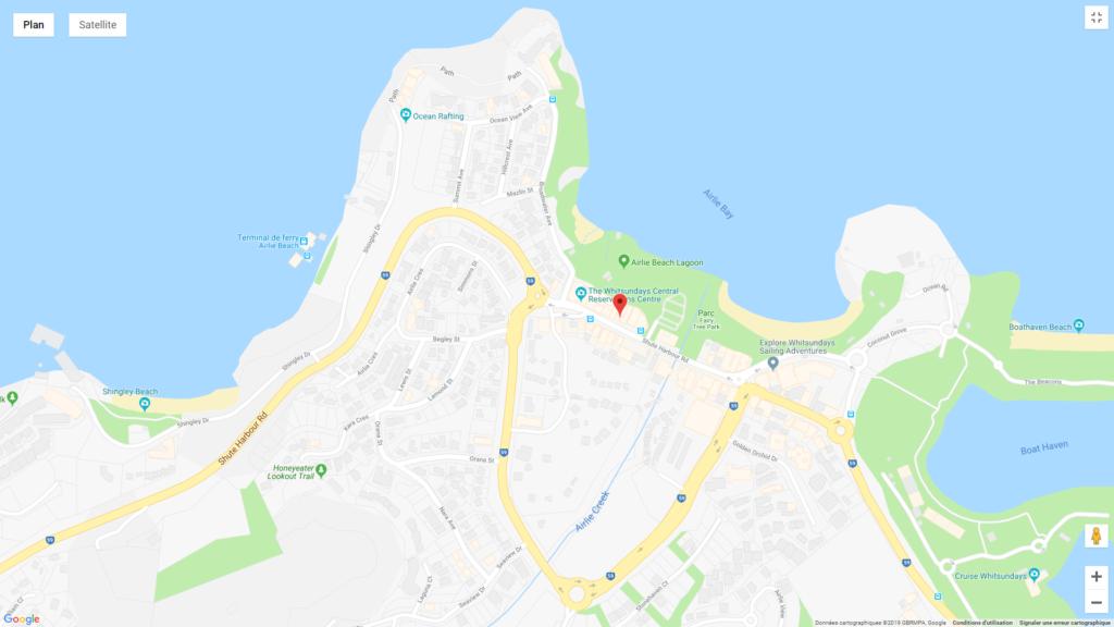 circuit de 3 semaines HOTEL PAS CHER AIRLIE BEACH
