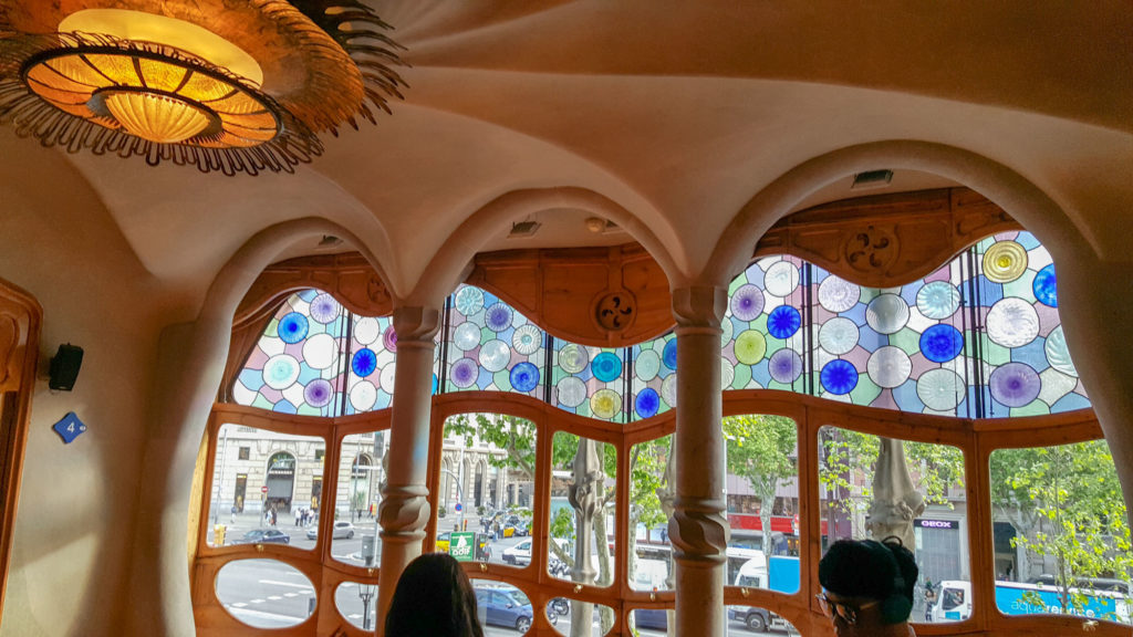 Casa Batlló oeuvre magistrale de Gaudí