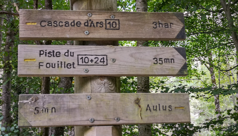 Ariège - Cascades d'Ars