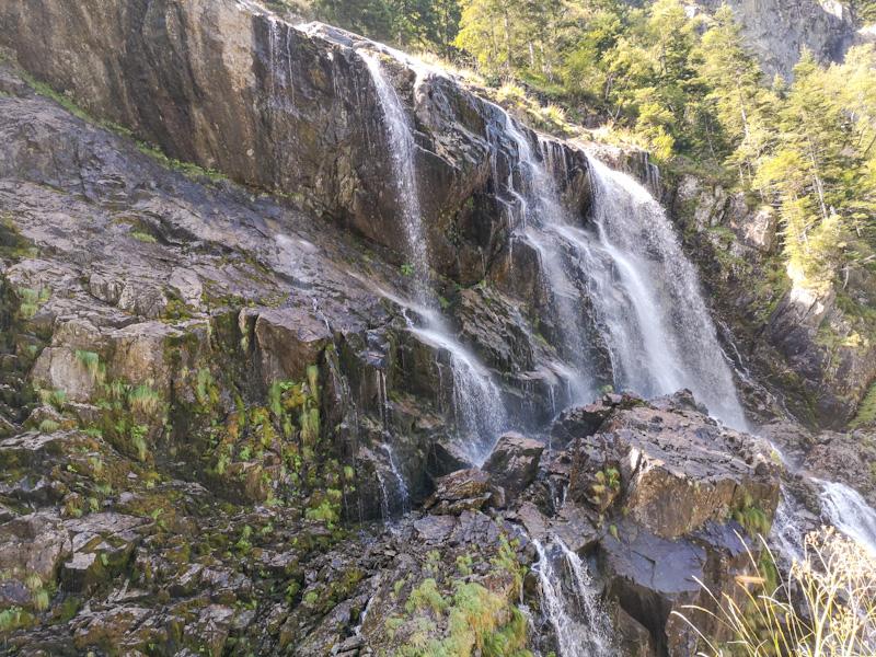 Que voir en Ariège randonnée aux Cascades d'Ars