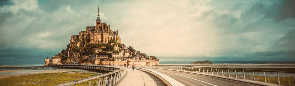 Mont St Michel dans l'itinéraire routier de 10 jours en France