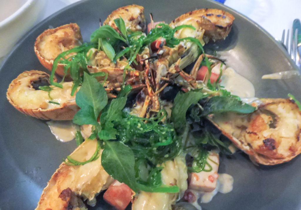 Road trip en Australie Queensland -  Port Douglas restaurant de fruits de mer