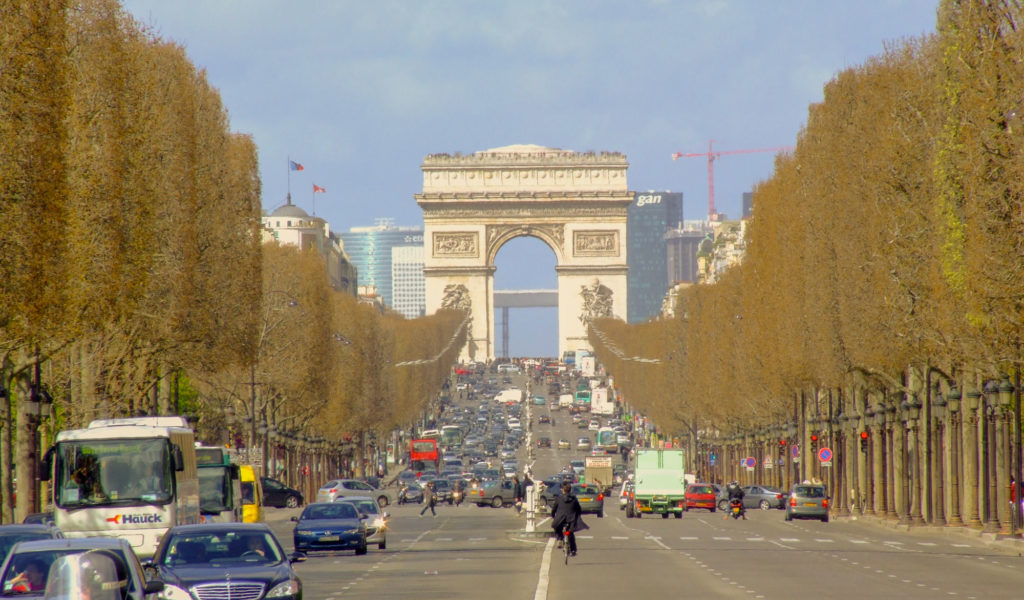 champs Elysées Stage of my Paris circuit in 1 day