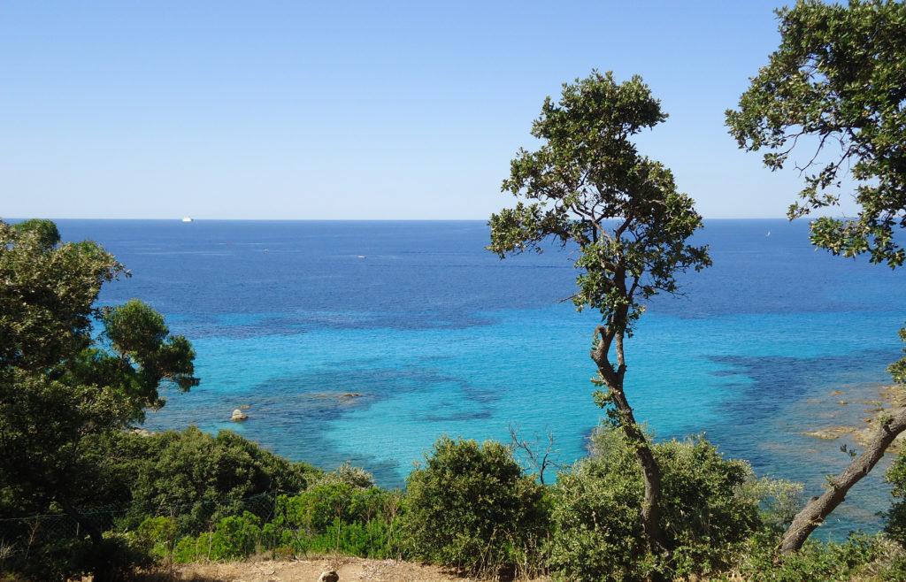 Anse d'Aliso étape de mon circuit Cap Corse en 2 jours