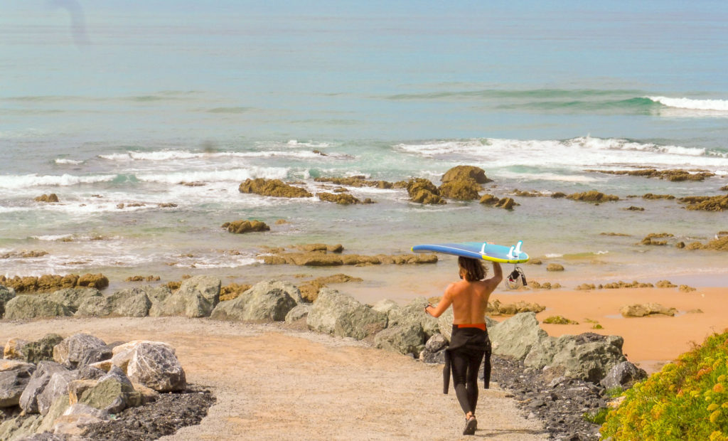 Buscar un camping en el País Vasco francés