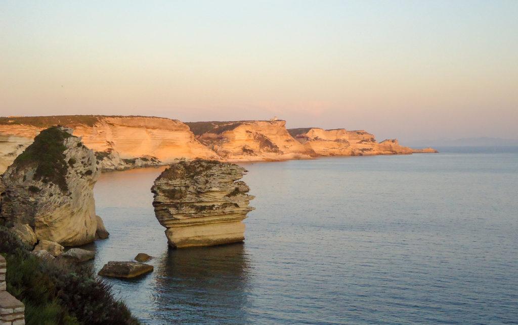 2 jours en Corse du Sud le soir sur Bonifacio