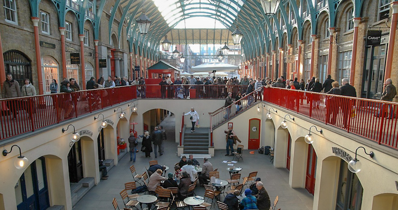 Où faire du shopping à Londres Covent Garden