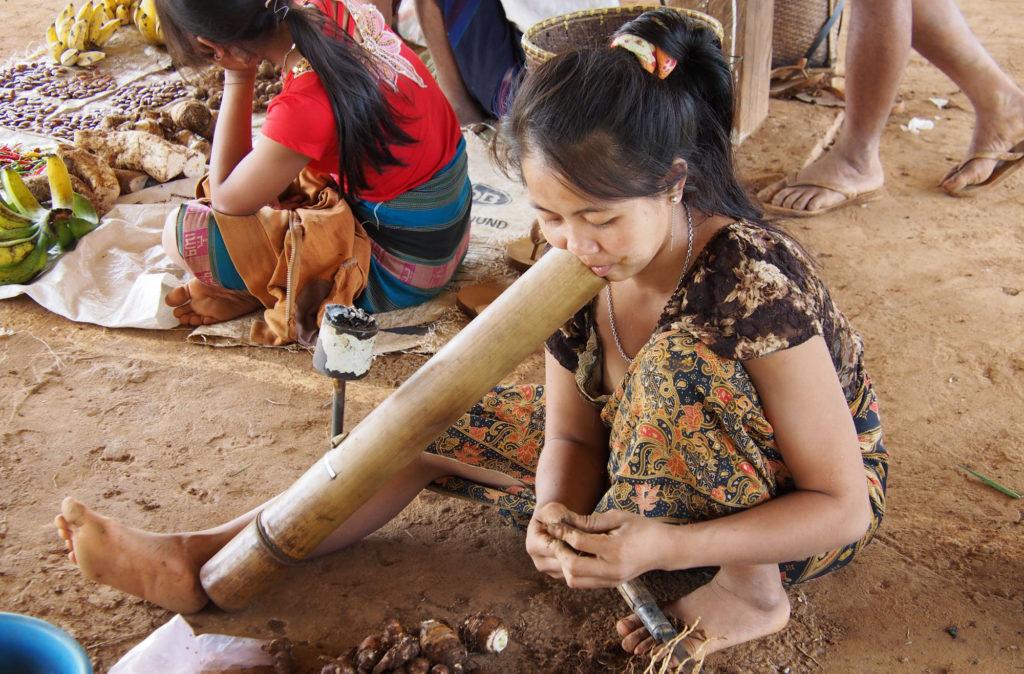 Visite villages de minorités ethniques : Alak, Lawe Plateau des Bolovens