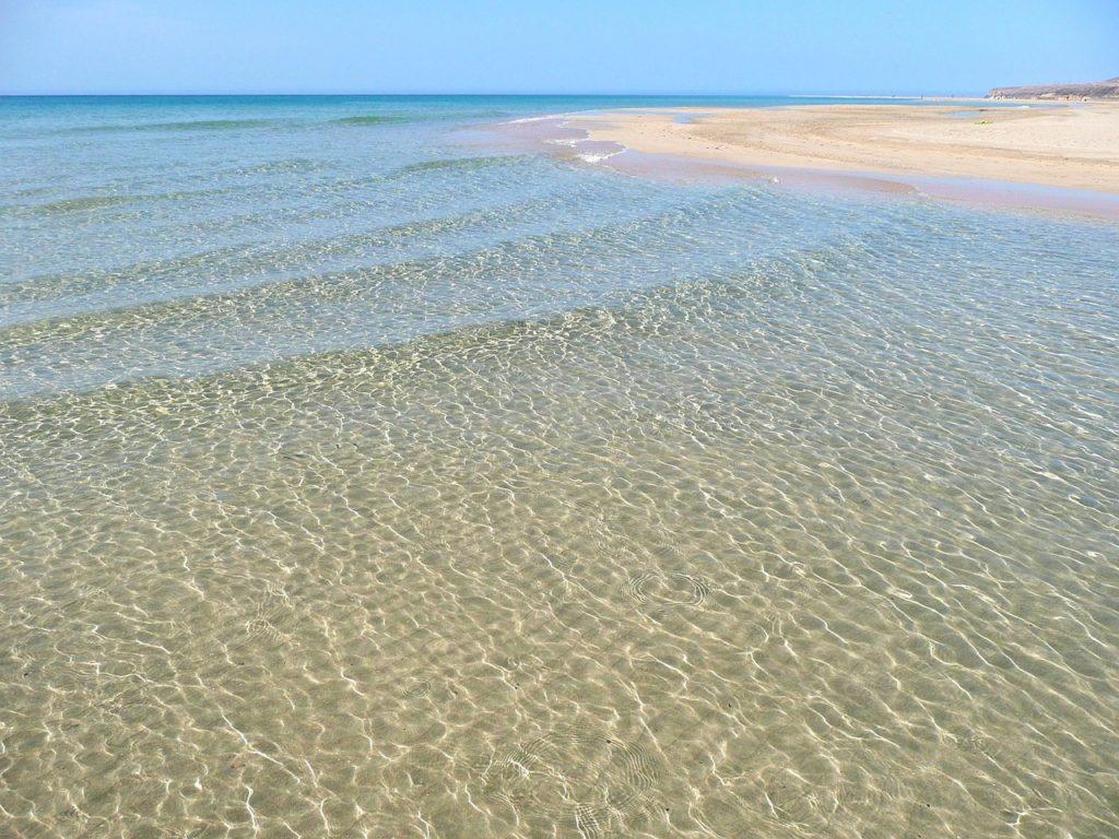 fuerteventura mer cristaline et eaux turquoises