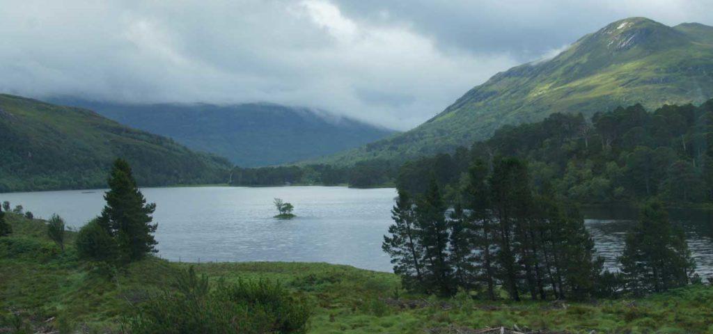 Etape à la Vallée de Glen Coe et région du Loch Lomond