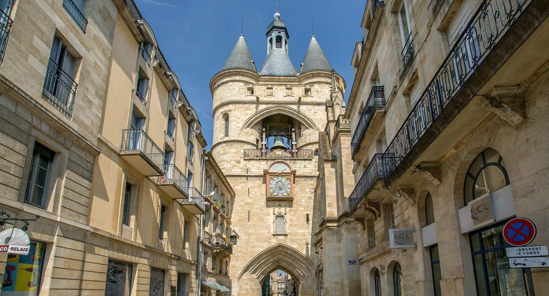 Etape du circuit Bordeaux en 1 jour : la grosse cloche