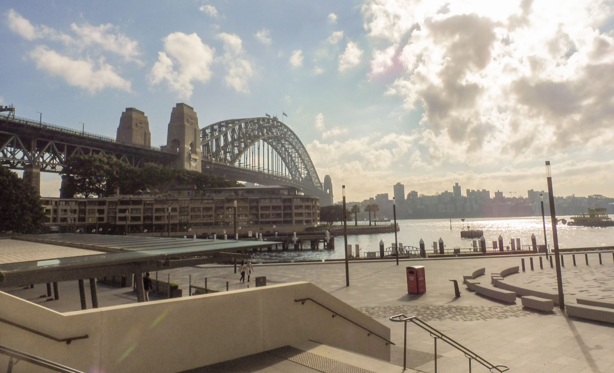 harbour bridge for my Sydney 1 day city tour